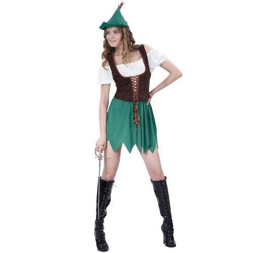 Bristol Novità - Robin Hood costume per le donne (AC268)