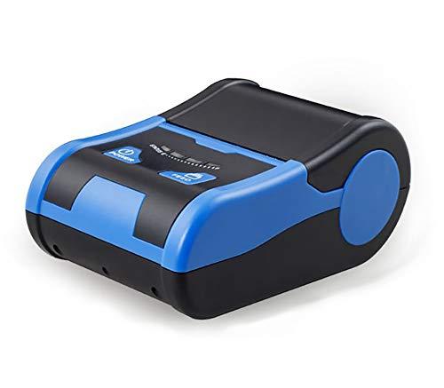 Etikettendrucker handgerät Embosser Home Embossing Etikettendrucker Thermo-Barcode-Aufkleber Mini-Bluetooth-Handetikettendrucker für die Etikettierung, Büro