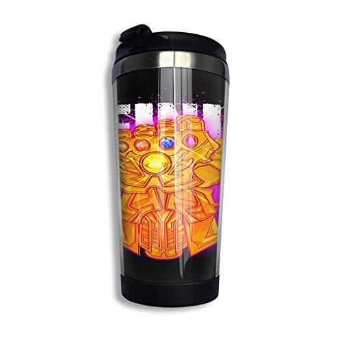 DJNGN Infinity Pullover Hoodie Kaffee Reisebecher Tasse Edelstahl Vakuumisolierter Becher 13,5 Unzen