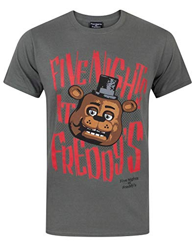 Five Nights At Freddy's Freddy Fazbear Men's T-Shirt (XL)