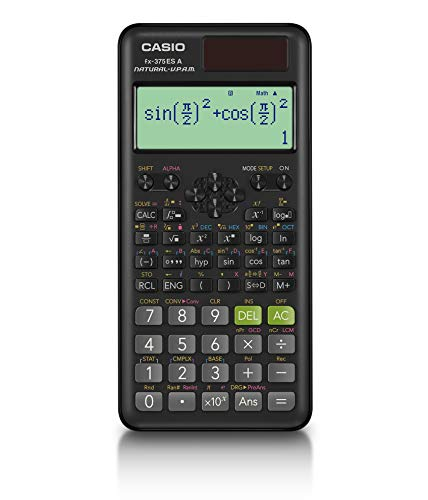 カシオ 関数電卓 微分積分・統計計算・数学自然表示 394関数・機能 fx-375ESA-N