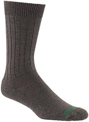 Mephisto Men's NYC Padded Dress Sock,Brown,US L