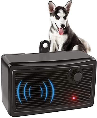 XIAXIA Ultrasuoni per Cani, Automatico Antiabbaio, 100% Sicuro Dispositivo Deterrente Anti-Abbaio per Cani, Anti Abbaio Dispositivo Impermeabile per Cani Taglia Piccola Medio