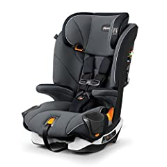 Converts from 5-point harness to belt-positioning booster Duo Guard side-impact protection for head and torso, and steel-reinforced frame 4-position recline, 9-position headrest, and deep Ergo Boost seat with padding/contour Premium LATCH connectors ...