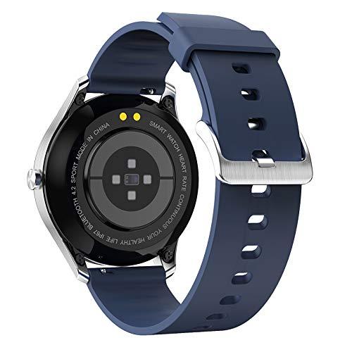 TANGTANGYI Neutrale Smartwatch Elektronisches Uhrwerk Verschleißfestes Armband Gesundheitstest Blutdruck Blutsauerstoff Herzfrequenz Kalorien Schrittzahl Wiederaufladbares D3