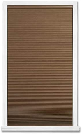 high quality allen high quality + roth 23-in W x sale 64-in L Linen Cordless Blackout Cellular Shade sale