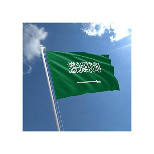 Gran 5'x3' bandera de Arabia Saudita Premium calidad Arabian partidario Fans bandera de decoración