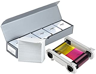 Evolis R5F008AAA YMCKO Color Ribbon + 500 PVC Cards