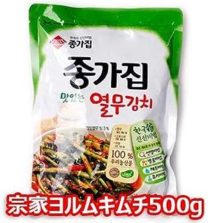 【冷蔵便】宗家 ヨルム キムチ 500g x 4袋 2kg キムチ 韓国 食品 食材 料理 おかず おつまみ