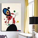 FANYUEART Joan Miro Lienzo Abstracto Carteles e Impresiones de Arte de Pared Cuadros...