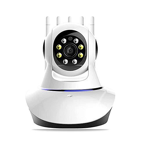 Cámara de vigilancia wifi,KuWFi cámara inalámbrica 1080p,monitor de cámara de bebé WiFi,cámara de seguridad interior,cámara de vigilancia con visión nocturna/audio bidireccional (con tarjeta de 64 TF)