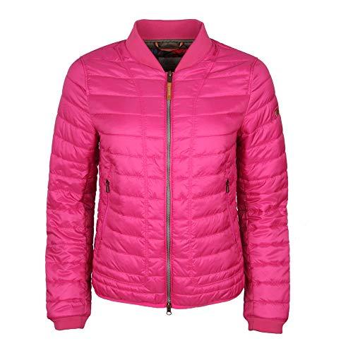 camel active Womenswear Damen Leichstepp Bomber Jacke, Rot (Pink 85), 40