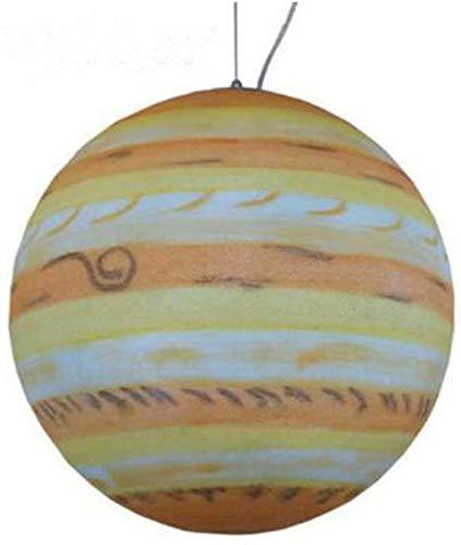 Nordic hanglamp instelbare hanglamp planet bal hanglamp eetkamer plafondlamp kinderkamer hanglamp, jupiter, 30 cm