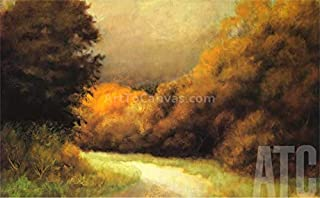 ArtToCanvas 42W x 26H inches : Languid Afternoon by Robert Striffolino - Framed Canvas