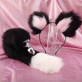 WRZHL 15,7 cms Soft-Heck-Stecker Schöne flaumige Ohren Tragbare Haarband SXX Spielzeug für Erwachsene Damen Cosplay Spiel T-Shirt Wallet Sunglasses (Color : Pink)