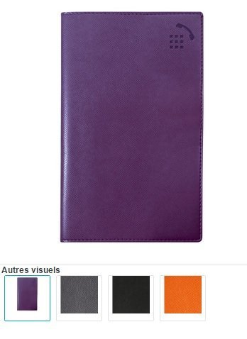 Exacompta 13874E - Cuaderno de direcciones Rialto 8,6 x 15,8 cm