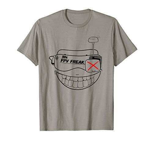 FPV FREAK drone & Quadrocopter Pilot T-Shirt