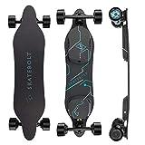 SKATEBOLT Breeze II Electric Skateboard Longboard High Speed,15 Miles Range,Dual 450W Motors, 30° Gradeability, Fiberglass/Bamboo Deck,Intelligent Motorized Board with Remote,Stable Commuter Rider