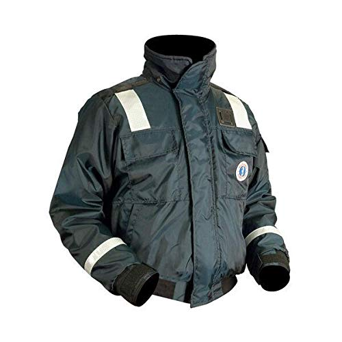 Mustang Survival Classic Bomber Jacket (Navy, X-Large)