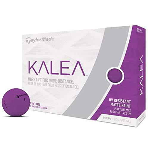 TaylorMade Kalea Golf Balls, Purple (One Dozen) , Large