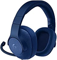Logitech G433 7.1 Surround Gaming Headset, DTS Headphone:X 3D Positional Audio, 40 mm Pro-G Audio Drivers, Lightweight,...