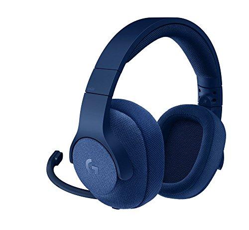 Logitech G433 Kabelgebundenes Gaming-Headset, 7.1 Surround Sound, DTS Headphone:X, 40mm Pro-G Treiber, USB-Anschluss & 3.5mm Klinke, Abnehmbares Mikrofon, PC/Xbox One/PS4/Nintendo Switch - blau