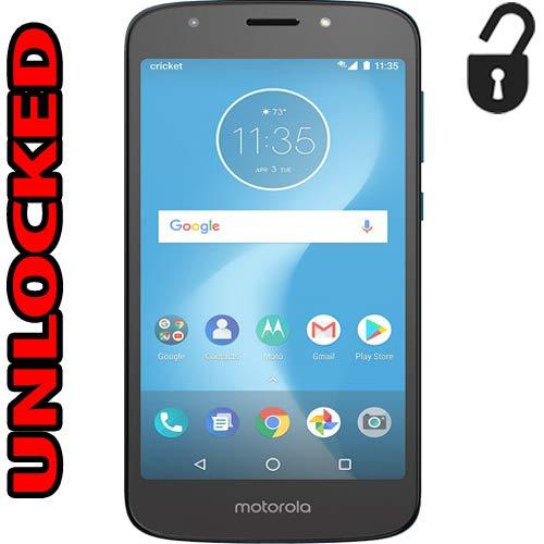 Motorola Moto E5 Cruise Unlocked 4G LTE (Cricket) Single Sim 16GB 2GB Ram 8MP XT1921-2 Android 8.0...