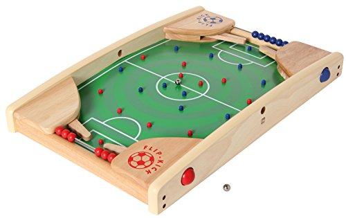 Bartl 106741 Flip Kick Deluxe, 58 cm, Flipper und Kicker, für 2 Spieler