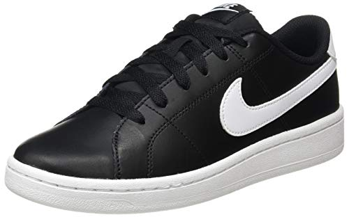 Nike Wmns Court Royale 2, Zapatos de Tenis Mujer, Blanco Y Negro, 38 EU