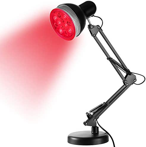 Garpsen Red Light Therapy Lamp Red Light Therapy Device 24W 12PCS LED Light Heat Lamp Device product image
