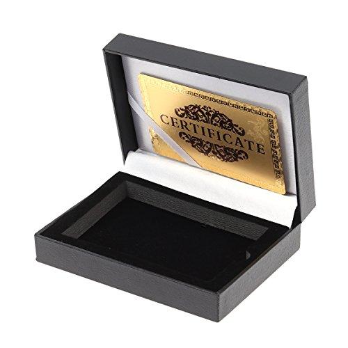 STOBOK Boîte de Rangement pour Cartes à Jouer Porte-Cartes de Poker en PU Porte-Cartes Accessoires de Table (Noir)