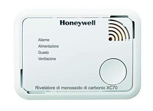 Dispositivo di Allarme per Monossido di Carbonio XC70-IT-A Honeywell Home