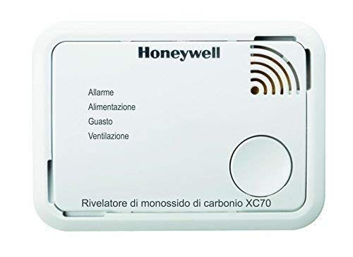 Dispositivo di Allarme per Monossido di Carbonio XC70-IT-A Honeywell Home
