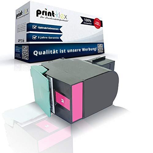 Kompatible Tonerkartusche Magenta für Lexmark C540N C543DN C544DN C544DTN C544DW C544N C544Series C546DTN 0C540A1MG 0C540H1MG - Premium Pro Serie