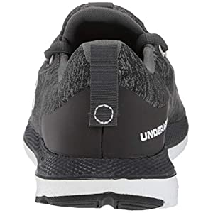 Under Armour Women's Charged Impulse Sport Running Shoe, Black (002)/White, 8.5
