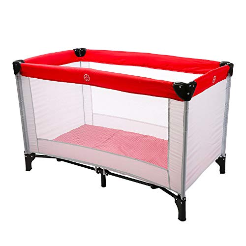 Learn More About Crib Baby Folding Crib Portable with Mosquito Nets Baby Bed Multifunctional Crib Ga...