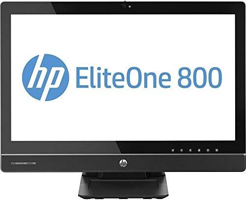 """PC All in One HP EliteOne 800 G1 - iCore i5 - Ram 8GB - SSD 128GB - Schermo 23"""" FullHD - Win 10 Pro (Ricondizionato)"""