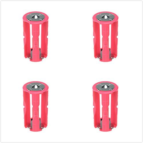 DSLRKIT 4AAA(LR03) to C Size Parallel Battery Adapter Holder (Pack of 4)