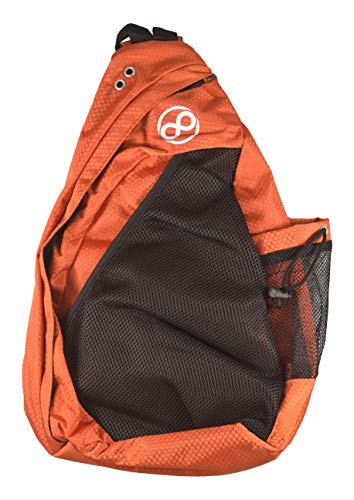 Infinite Discs Disc Golf Backpack Slinger Bag (Dark Orange)