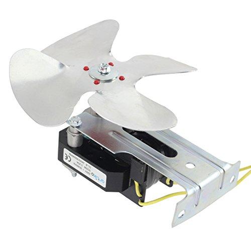 SPARES2GO Universal Koelkast diepvriezer Compressor Motor Cooling Fan Kit (2100RPM, 15W)