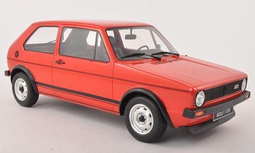 VW Golf I GTI, rot, 1976, Modellauto, Fertigmodell, Ottomobile 1:12