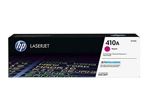 HP Original–HP–Hewlett Packard Color LaserJet Pro M 477fdn (410a/CF 413a)–Toner Magenta–2.300páginas