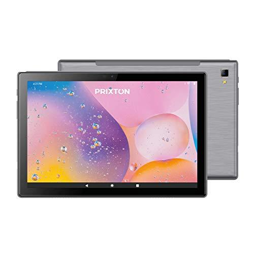 Tablet Expert PRIXTON Pantalla IPS 10 Pulgadas Sistema Operativo Android 10.0 Procesador Octa Core Unisoc T618 Memoria 3/64 GB con Ranura SIM