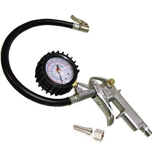 Auto Utility camion pneumatico tubo aria inflatore quadrante pressione Misuratore Contatore Compressore