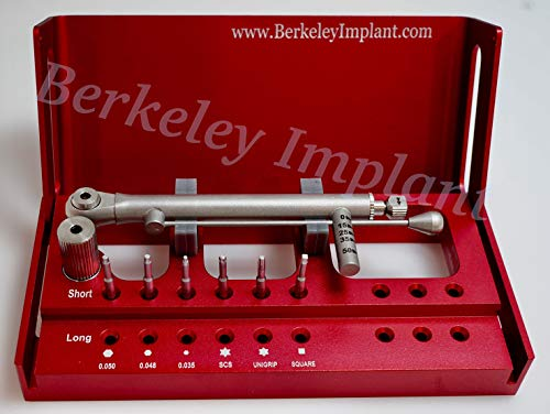 Dental Implant Latch-Type Multi-Driver Set (Short Drivers) for Dental Practices