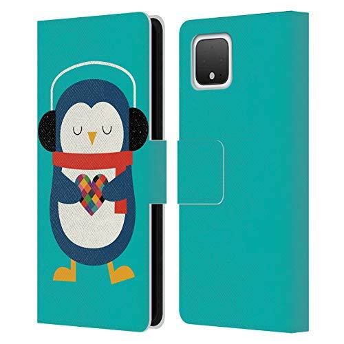 Head Hülle Designs Offizielle Andy Westface Meinem Herz Tierwelt Leder Brieftaschen Handyhülle Hülle Huelle kompatibel mit Google Pixel 4