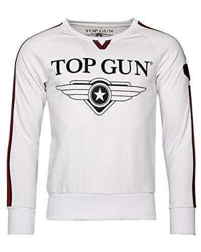 Top Gun Sweatshirt 6408 310-TG2019-1013 weiß (XXXL)