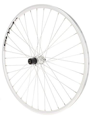 Rodi City K7 - Rueda Doble Trasera para Bicicleta, Color Pla