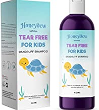 Anti Dandruff Shampoo for Kids – Best Tear Free Natural Children's Scalp Treatment with Lavender & Tea Tree + Jojoba – Sulfate Free for All Ages (8oz)