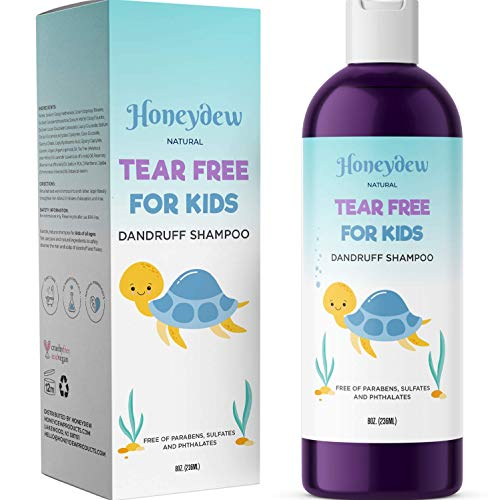 Anti Dandruff Shampoo for Kids – Best Tear Free Natural...